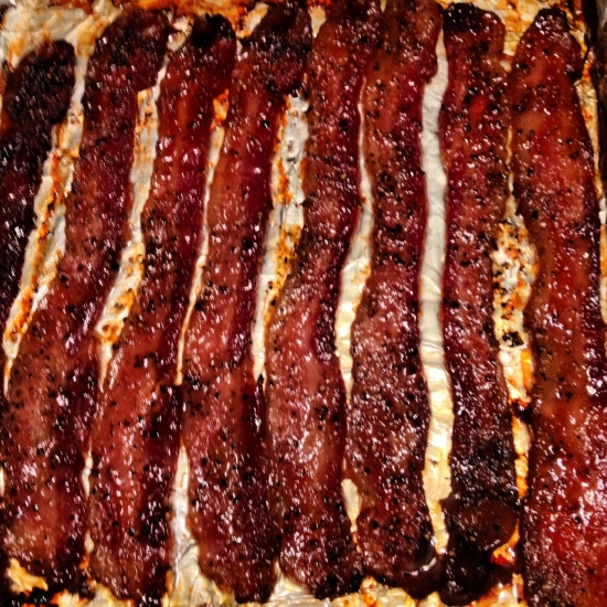 Candied Bacon Recipe — Dishmaps