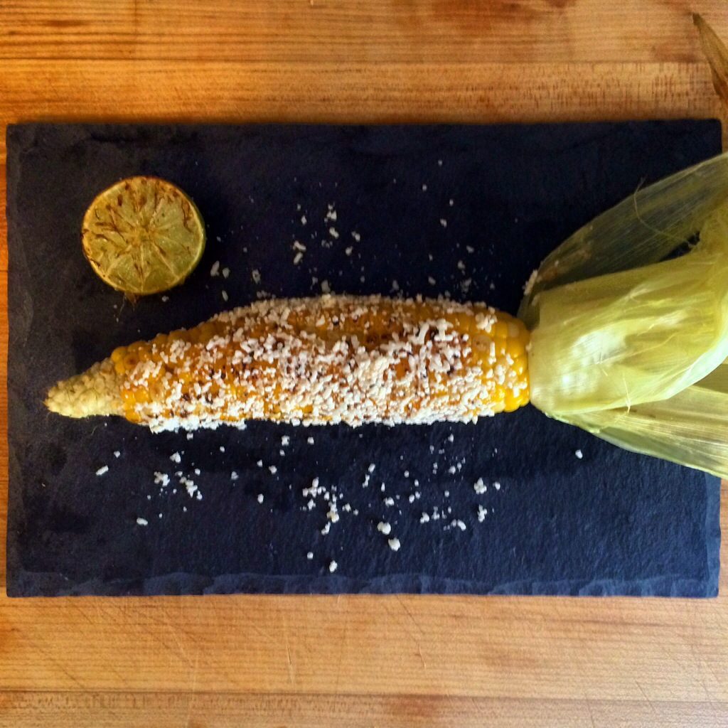 Corn On The Cob With Lime Butter And Cotija Cheese Recipes ...